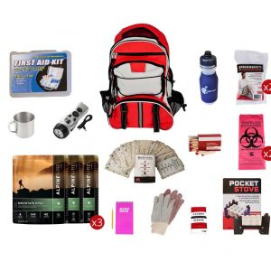 Survival Kits with Food Pouch