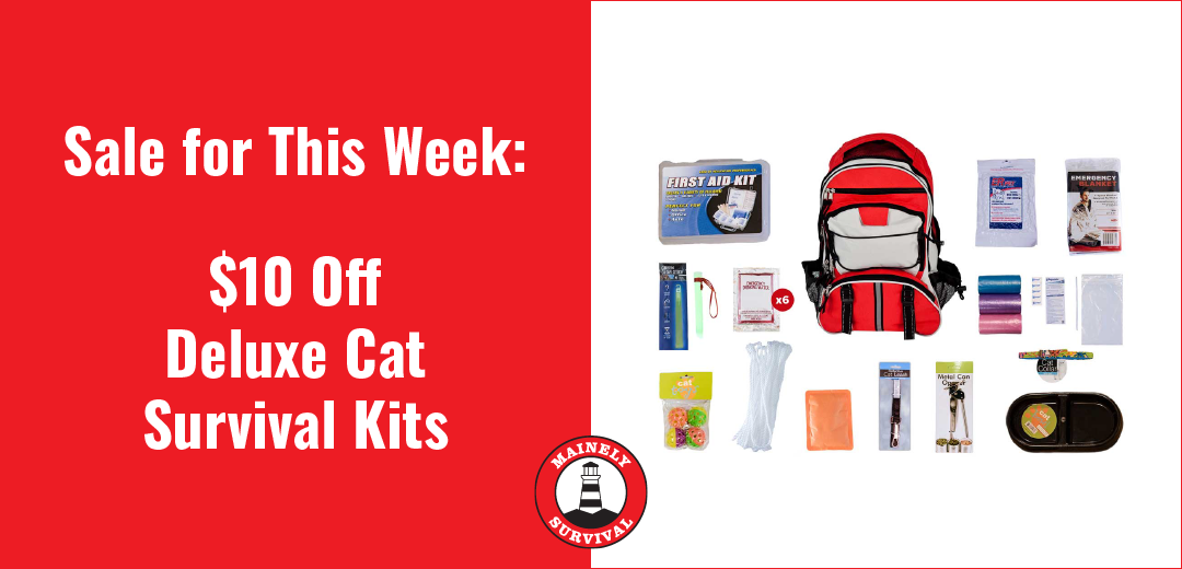 Sale for This Week: $10 Off The Deluxe Cat Survival Kit